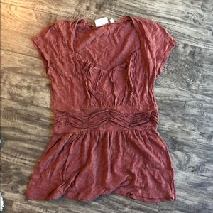 NWOT ANTHROPOLOGIE TOP SIZE SMALL